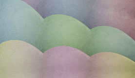 Abstract pastel shades Stock Photo