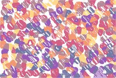 Abstract pastel soft colorful smooth blurred textured background off focus toned in pink and lilac color. Can be used as a wallpap vector illustration