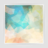 Abstract Pastel Triangle background Royalty Free Stock Photography