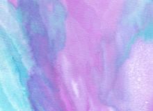 Abstract pastel watercolor background. stock image