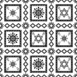 Abstract patchwork pattern. Royalty Free Stock Image