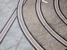 Abstract pathway. Abstract line pathway pattern background Stock Image