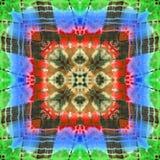 Abstract patroon als achtergrond Stock Afbeeldingen