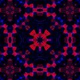 Abstract patroon als achtergrond, caleidoscoop Royalty-vrije Stock Foto