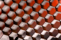 Abstract patroon als achtergrond met kubussen Stock Foto's