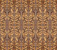 Abstract patroon als achtergrond van de draden Stock Foto
