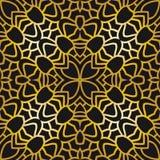 Abstract patroon in art decostijl Stock Afbeelding