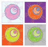 Abstract patroon binnen   Royalty-vrije Stock Afbeeldingen