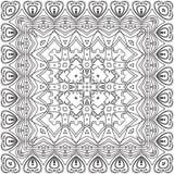 Abstract patroon, contouren Royalty-vrije Stock Afbeeldingen