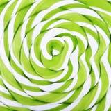 Abstract patroon groen en wit suikergoed Royalty-vrije Stock Afbeeldingen