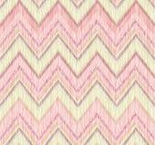 Abstract patroon Het ornament van de de zigzaglijn van de stoffenkrabbel Royalty-vrije Stock Afbeeldingen