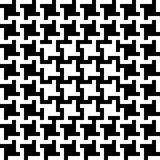 Abstract Patroon Houndstooth Stock Afbeelding