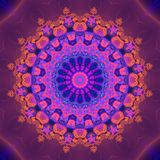 Abstract Patroon Mandala Royalty-vrije Stock Foto
