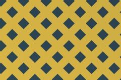 Abstract patroon met blauwe geometrische vierkante vorm Royalty-vrije Stock Afbeeldingen