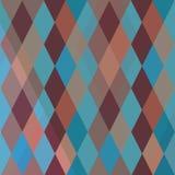 Abstract patroon met diamanten Royalty-vrije Stock Afbeelding