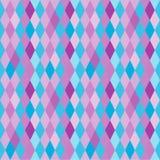 Abstract patroon met diamanten Stock Foto