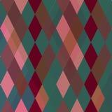 Abstract patroon met diamanten Royalty-vrije Stock Fotografie