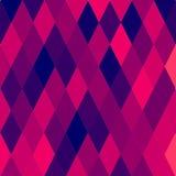 Abstract patroon met diamanten Stock Afbeelding