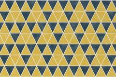 Abstract patroon met geometrische driehoeksvorm Stock Afbeeldingen