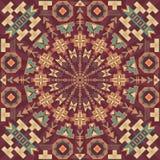 Abstract patroon met geometrische vormen royalty-vrije illustratie