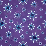 Abstract patroon met lilac cijfers Stock Foto