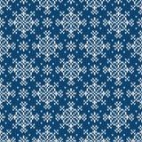 Abstract patroon met naadloze gebreide textuur Royalty-vrije Stock Fotografie