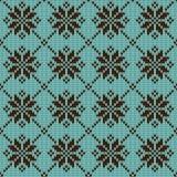 Abstract patroon met naadloze gebreide textuur Stock Foto