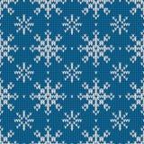Abstract patroon met naadloze gebreide textuur Royalty-vrije Stock Afbeeldingen