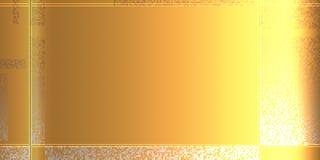 Abstract patroon met pixel Gouden malplaatje voor uw zaken vector illustratie