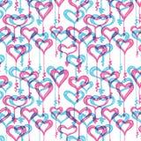 De liefde sluit patroon Stock Fotografie