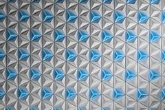 Abstract patroon met velen die piramides herhalen stock illustratie