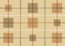 Abstract patroon met vierkanten Stock Illustratie