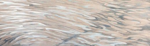 Abstract patroon op een muur Stock Fotografie
