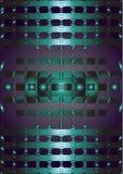 Abstract patroon op metaal Stock Foto