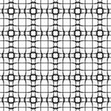 Abstract patroon, retro zwart-witte textuur Stock Afbeelding