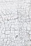 Abstract patroon van barsten in witte gewassen muur Stock Foto