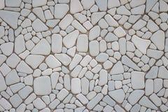 Abstract patroon van de grijze textuur van de steenmuur Royalty-vrije Stock Foto