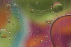 Abstract patroon van gekleurde oliebel Royalty-vrije Stock Fotografie