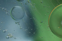 Abstract patroon van gekleurde oliebel Stock Afbeelding