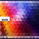 Abstract patroon van geometrische vormen Stock Fotografie