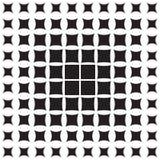 Abstract patroon van geometrische vormen die aan de rand verminderen royalty-vrije illustratie