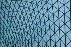 Abstract patroon van glas en staal zoals een spinneweb Stock Fotografie