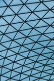 Abstract patroon van glas en staal zoals een spinneweb Stock Afbeelding