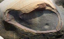 Abstract patroon van kleurrijke rots Stock Foto's