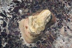 Abstract patroon van kleurrijke rots Stock Afbeelding