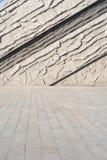 Abstract patroon van muur Stock Fotografie