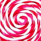 Abstract patroon van rood en wit suikergoed Royalty-vrije Stock Fotografie