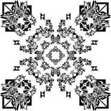 Abstract Patroon Veelvoudig Perspectief arabesque stock illustratie