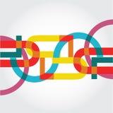 Abstract patroon voor het brandmerken Royalty-vrije Stock Foto