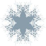 Abstract patroon voor t-shirt Rond symbool met het weven mandala Royalty-vrije Stock Foto